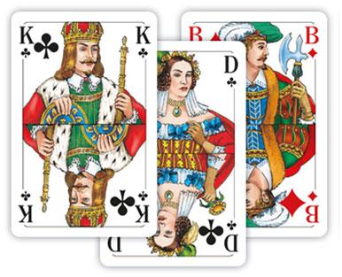 Kartenspiel Französisches Blatt